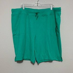 Athletic Works Green Shorts